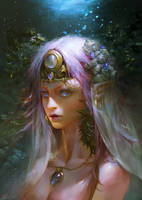 The sea Princess by JUNLING