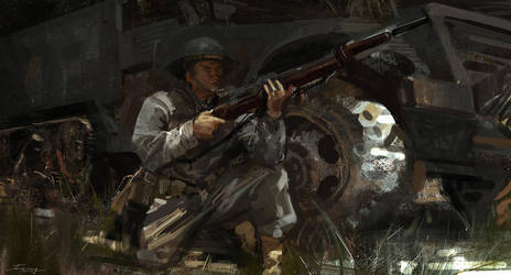 Soldier's by JUNLING