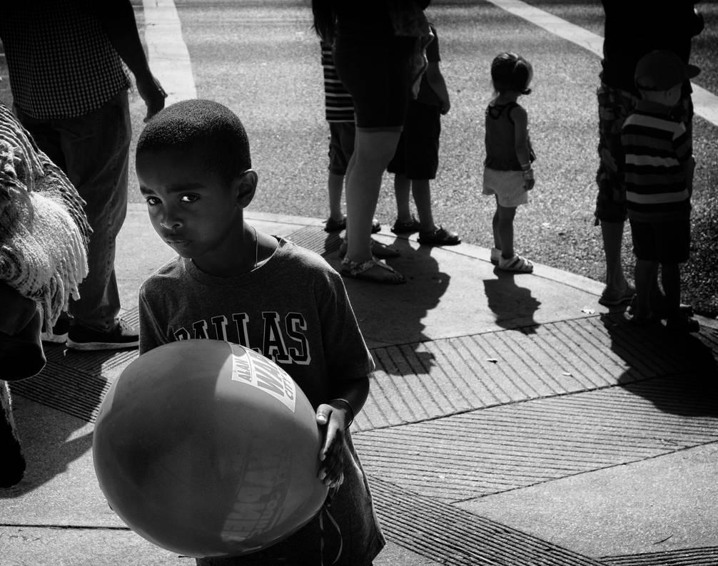 Boy At The Parade by myoung4828