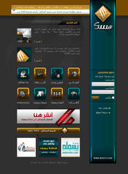 MISK main page by Aljonaidy