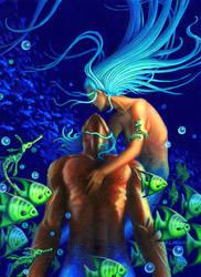 Mermaid's Kiss by khorah