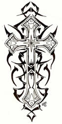 Tribal Cross by designbyry