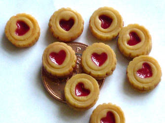 Teeny Jammie Dodgers 1 by CountessCocoFang