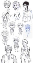 sketchdump by shawei