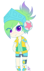 Riven Arcade chibi by MlleRoxy4