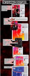 Designing picture tutorial by KeReN-R
