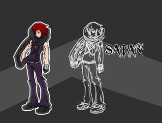 Satan - The Good and Evil by fedyfausto
