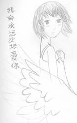 Angel Sketch by Bamzu