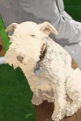 Pop Art Dog 01 by Bamzu