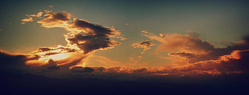 Clouds Stole My Sunset... by tntiseverywere