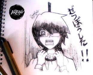 InkTober: Dia 2 by SophieSanS