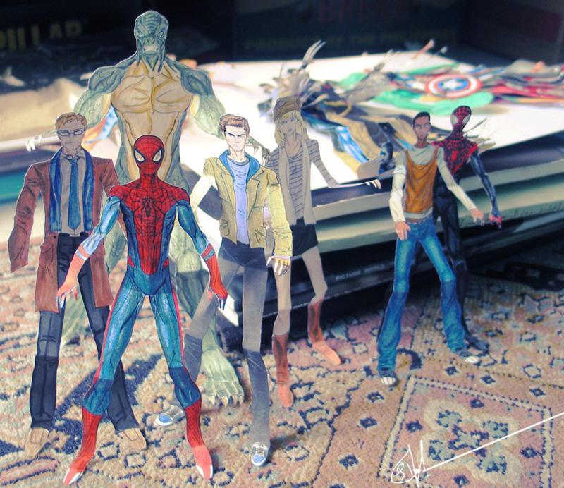 Amazing Spider-man by sia1965pak