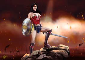 Wonder Woman by sia1965pak