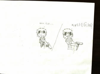 Knife+Gun= KNIFEGUN! by Ryou-Bakura-154