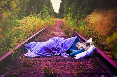 .sleep tracks. by SmokyPixel