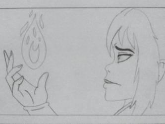 Sneak Peek of my comic project by AuroraArt