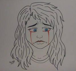 Tears of Hurt by AuroraArt