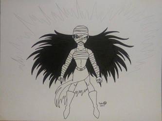 The Fierce Mummy by AuroraArt