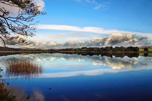 Loch: long sky by Coigach