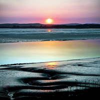 Creetown: Eyjafjallajokull Sundown by Coigach