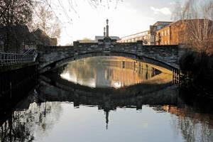 Winter Bridge: Norfolk by Coigach