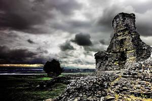 Castle+Estuary - Essex UK by Coigach