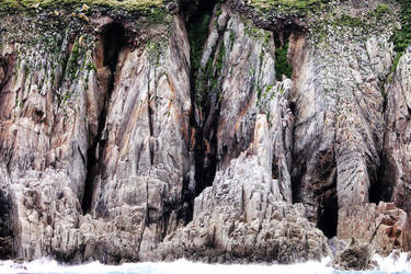 Lundy Cliffs Revisit 2 by Coigach