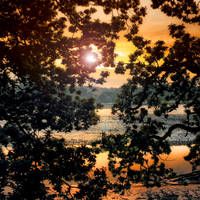 Summer 2: Riverside Sundown by Coigach