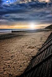 Norfolk Dawn - Mundesley Beach by Coigach