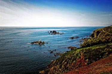 Cornish Coast by Coigach