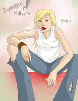 Zombie Killers Chapter 2 Cover by MinorDiscrepancy