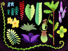 Plants by MinorDiscrepancy