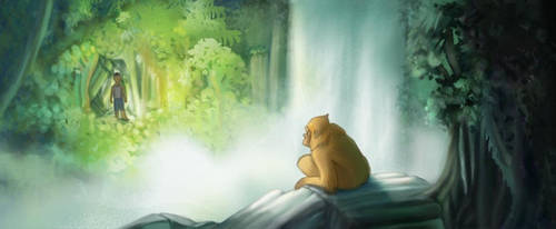 Jungle Scene by MinorDiscrepancy