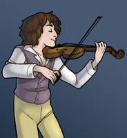 Eight Violin by MinorDiscrepancy