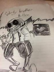 Dirty Brother Killer  by Skeletal-Studios