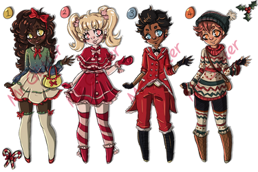 Holiday Adopts (Closed) by MrGlitter