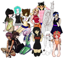 Collab: OC Group August by MrGlitter