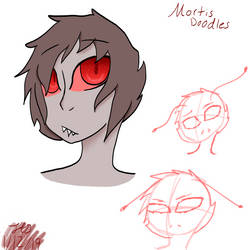 SSS: Mortis Doodles by Jade-and-Blue
