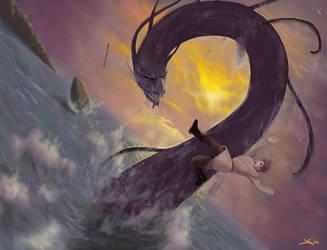 Sea Serpent by Empty-Room-Studios