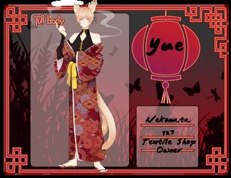 TnY : Yue by teakaorii