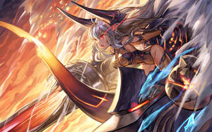 [GBF]Colomaguchan battle by Ecens