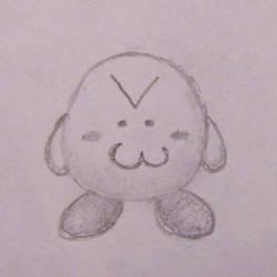 Jesus Christ it's a Kirby by Wolf-Pup-TK