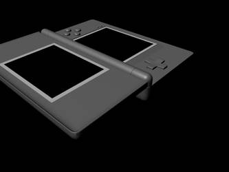 DS Lite Model - 2 by Wolf-Pup-TK