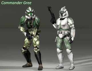 Star Wars | Commander Gree by SucculentSoldier