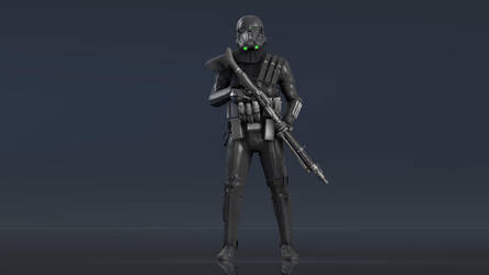 Imperial Deathtrooper [SFM] by SucculentSoldier