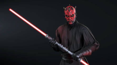 Darth Maul by SucculentSoldier