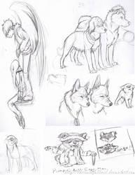Sketch Dump by TheRootOfAllEvil