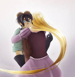 Tangled (The Series): Much Needed Comfort by Chidai