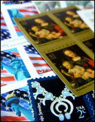 Stamps by Medbie