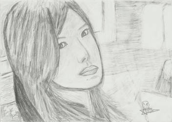 Japanese girl by MrChiron